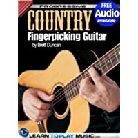 Country Fingerstyle Guitar Lessons: Teach Yourself How to Play Guitar (Free Audio Available) (Progressive) (English Edition) - Acoustic Solo Tabs