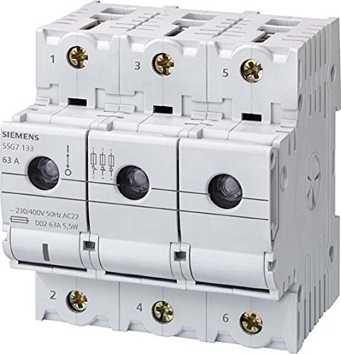 Siemens–Schalter minized-n D023pol 63A