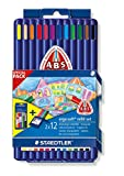 Staedtler 157 SB12P2 - Ergo soft Farbstift Promotion