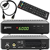 Anadol HD 202c digitaler Full HD Kabel Receiver (HDTV, DVB-C / C2, HDMI, SCART, Mediaplayer, USB...