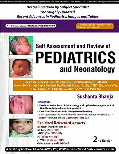 Self-Assessment and Review of Pediatrics and Neonatology