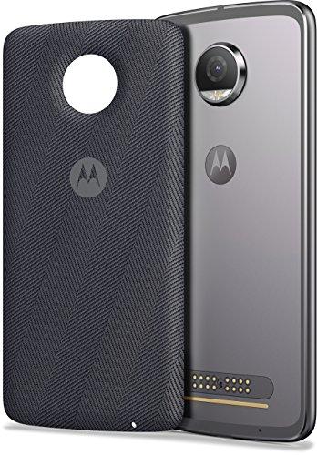 Moto Style Shell + Wireless Charging (geeignet für alle Moto Z Smartphones) grau Test