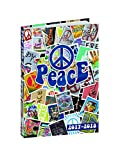 Quo Vadis Love & Peace 'SYMBOLE PEACE' Eurotextagenda scolaire Septembre 2017 à Août 2018 -12x17cm