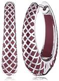 Esprit Jewels Damen-Creole Lattice red 925 Sterlingsilber  S.ESCO90796B000