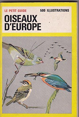 Tous les oiseaux d'Europe en couleurs