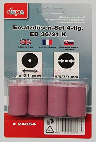Preisvergleich Produktbild Ersatzdüsen 2x6 mm 2x7mm für 24374/24280