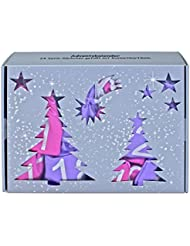Make-up Adventskalender 2017, mit 24 Satin-Säckchen in pink/lila