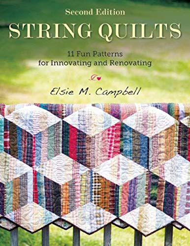 String Quilts: 11 Fun Patterns for Innovating and Renovating (English Edition) - Batik-applique