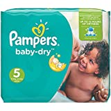 Pampers Baby Dry Windeln, Gr.5 (Junior) 11-25 kg, Monatsbox, 144 Stück