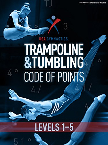 USA Gymnastics T&T Code of Points: Levels 1-5 (English Edition) por USA Gymnastics Trampoline Program  Committee