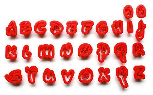 Disney Schrift | Kleinbuchstaben | Fondant Kuchen dekorieren Set oder Ausstechformen