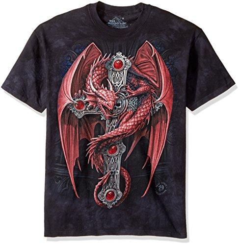 """The Mountain T-Shirt """"Gothic Guardian"""" Schwarz"""