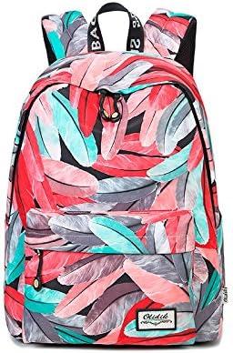DS-sac d'école Sac à Dos-épaule Sac Campus Sac à Dos Petit Frais Collège Style Mode Sac Sauvage Femelle Multifonctionnel Sac De Loisirs (28x16x38cm) && (Couleur : Red, Taille : 28x16x38cm)   Spécial Acheter