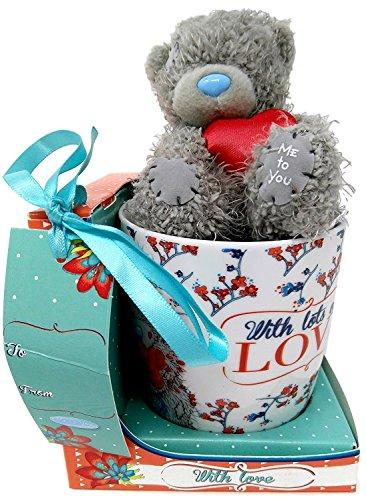 Me To You - Tatty Teddy - Lose Liebe Becher Und Bär Geschenk Set