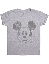 Disney Metallic Face, T-Shirt Fille