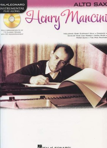 Hal Leonard Instrumental Play-Along: Henry Mancini (Alto Saxophone) (Play Along Book & CD)