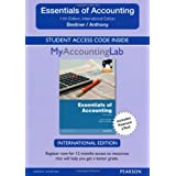 MyAccountingLab Standalone Access Card for Essentials of Accounting: International Editions