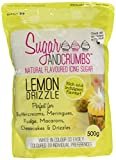 Sugar and Crumbs Lemon Drizzle Natural Flavoured Icing Sugar for Cakes/Buttercream and Other Baking 500 g