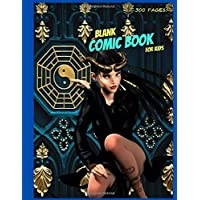 Blank Comic Book for Kids: Create Your Own Comics With Variety of Templates