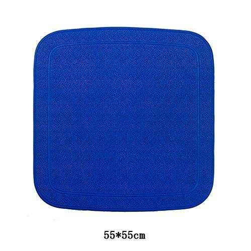 LYJ Tapis de bain Massage Tapis D'aspiration Antidérapants / Tapis De Salle De Bain Tapis ( Couleur Facultative) Séchage rapide ( Couleur : Bleu )