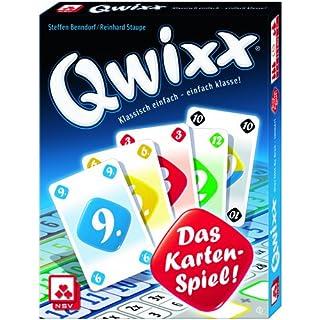 Nürnberger-Spielkarten-Verlag GmbH nsv–4027–qwixx–Jeu de cartes