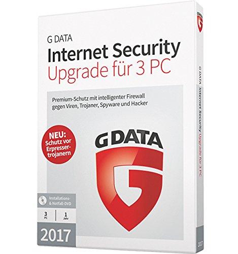 G DATA Internet Security 2017 Upgrade für 3 PC