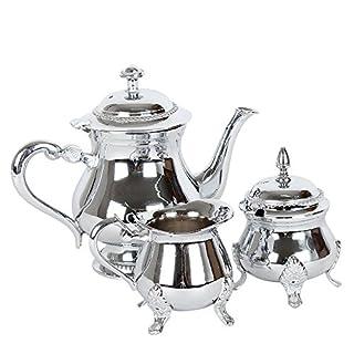 albena shop 73-130 Meyza tea set of 3 pieces teapot sugar bowl milk jug