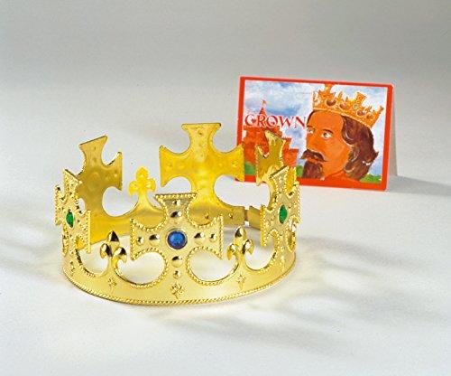 Krone König Königin Diadem Prinz größenverstellbar Erwachsene / (König Kronen Königin Und)