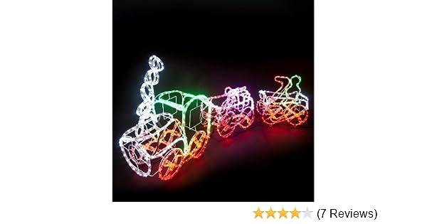 Weihnachtsbeleuchtung Außen Zug.1008 Led Lichterkette Lichtschlauch 28m Bunt 8f Weihnachten Weihnachtszug 1 12 Meter 3tlg