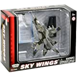 Richmond Toys Motormax Sky Wings Modern Tornado Aircraft Die-Cast Model Approx 1:100 Scale with Authentic Details