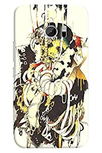 FindStuff Printed Back Cover For Htc One M10