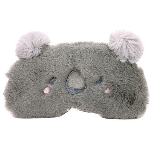 ITODA Augenmaske, Schlafmaske, niedliches Tiermotiv, Augenschutz, Anti-Licht, Reise-Maske, aus Baumwolle, atmungsaktiv, weich, mit verstellbarem Gurt, Augenmaske, Schlafmaske, Reise - Niedliche Kostüm Mit Masken