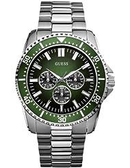 Guess Herren-Armbanduhr XL FOCUS Analog Edelstahl beschichtet W10245G3