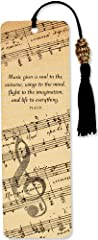 Idea Regalo - Music Beaded Bookmark