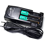 Chargeur Tr-001 + 2 Aimants + 2 Piles Rechargeables Li-ion Cr2 15270 3v 600mah Ultrafire