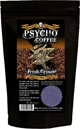 Psycho Coffee – Fresh Ground Psycho Strong Coffee 250g 51stfZz0VEL