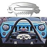 SXMA Universal Beast Front Bumper Aluminium 4x4 Hawse Fairlead Treuil synthétique