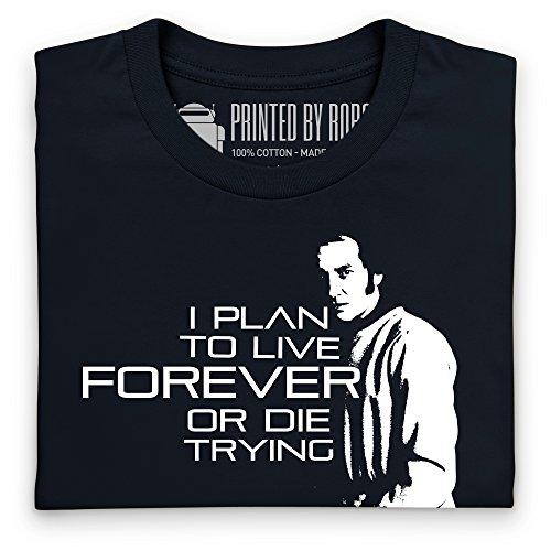 Official Blake's 7 T-Shirt - Live Forever, Herren Schwarz ...