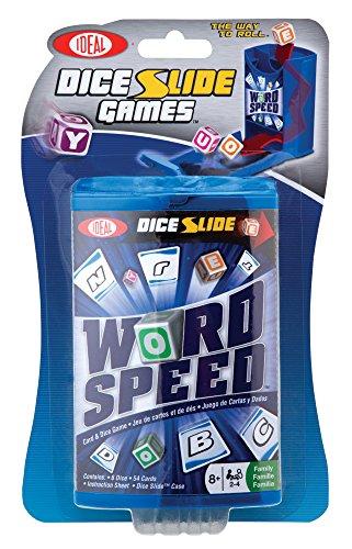 Ideal Wort Speed Würfel Slide Spiel