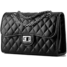 9c8c88497b83 Young   Ming - Femme cuir Sacs portés main Mini Sacs bandoulière Handbag  Sacs baguette avec