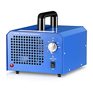 GCSJ Commercial Ozone Generator 7000mg Industrial O3 Air Purifier Deodorizer Sterilizer, Home Air Ionizers Ozone Air Purifier Sterilizer Deodorizer for Rooms, Smoke, Cars and Pets