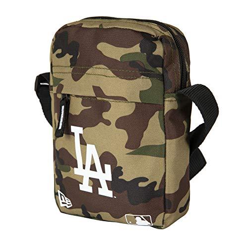New Era MLB Side Bag Umhängetasche LA DODGERS Camouflage, Size:ONE SIZE