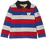 Steiff Baby-Jungen Poloshirt 1/1 Arm, Mehrfarbig (Y/d Stripe|Multicolored 0001),86
