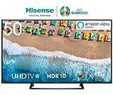 HISENSE H50BE7200 TV LED Ultra HD 4K, HDR, Dolby DTS, Single Stand Slim Design, Smart TV VIDAA U3.0 AI, Triple Tuner