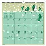 House of Doolittle bebilderte Wandkalender 12Monate Januar 2015bis Dezember 2015, 30,5x 30,5cm, recyceltem (hod376–15)