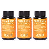 iAYUR Organic Pumpkin Seeds Extract (Pack of 3) Tested & Certified 100% Potent