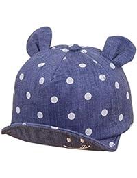 QinMM Sombrero de Punto Lindo de Las Niñas y Niños bebé c6826827d4b