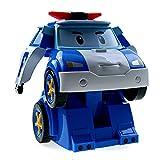 Ouaps - 83086 - Radio Commande - Robot - Robocar Véhicule Poli Transformable Interactif - 20 cm