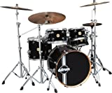 Ddrums PMP 522 PBLK Paladin Maple Player 5pc Piano Black Kit Batterie acoustique