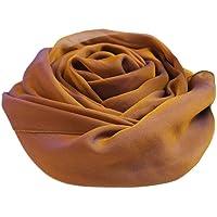 prettystern Unifarbe Seiden-taft festlich Stola für Abendkleider Damen-schal